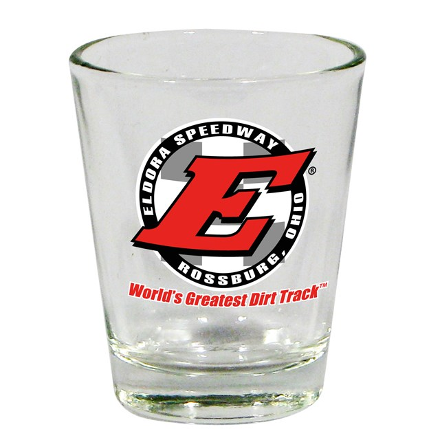 Eldora 2oz. Clear Shotglass