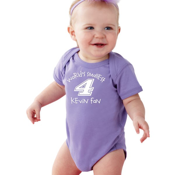 Purple Baby Onesie-Harvick