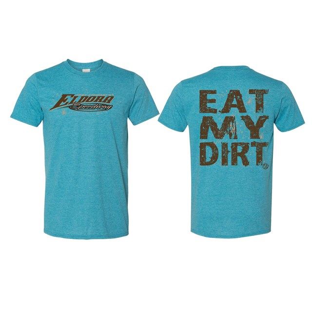 Eat My Dirt Tee-Blue