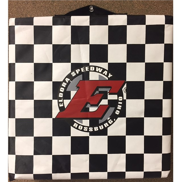 Big E Checkered Seat Cushion
