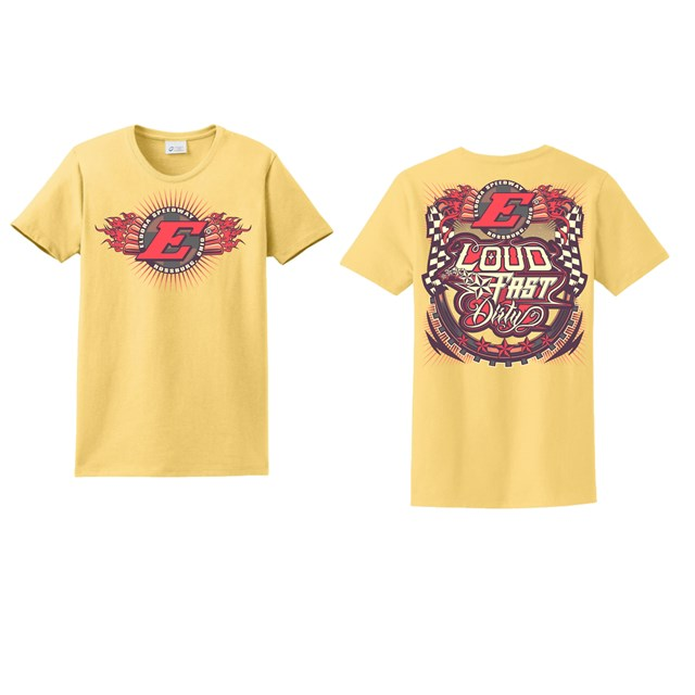 LFD Ladies Tee-DAFFODIL