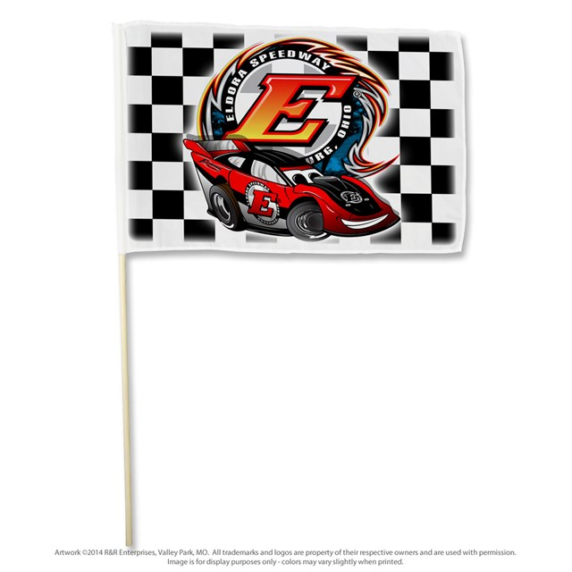 Late Model Stick Flag