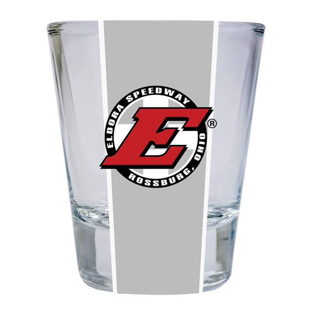 Eldora Square Striped Shotglass