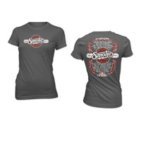 Legend Ladies Tee-Charcoal