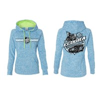 Colorless Ladies Blue/Neon Hoodie