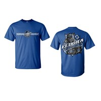 Colorless Big E Tee-Royal