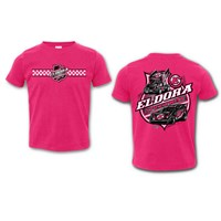 Colorless Big E TODDLER Tee-Pink