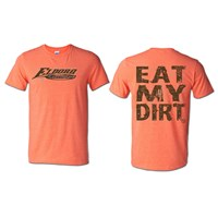 Eat My Dirt Tee - Heather Orange
