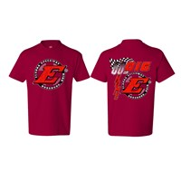 Go Big E YOUTH Tee-Red