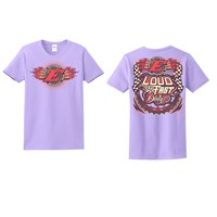 LFD Ladies Tee-Violet