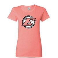 Eldora Ladies Tee-Coral
