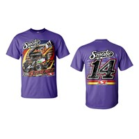 Smoke the Field Tee-Lilac