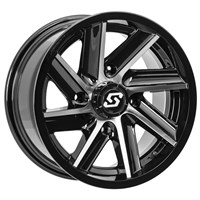 SEDONA CHOPPER MACHINED WHEEL