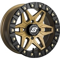 Split 6 Beadlock Wheel Bronze
