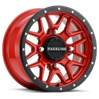 Krank Black / Red Wheel