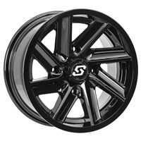 CHOPPER WHEEL GLOSS BLACK