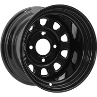 ITP DELTA STEEL WHEEL BLACK