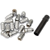 ITP LUG NUT CHROME TAPERED 12MM X 1.25