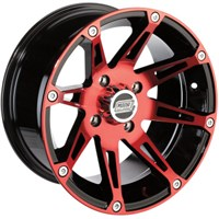 MOOSE MACHINED WHEEL 387X RED