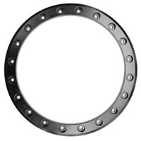 Raceline Ryno Wheel Beadlock Ring Black