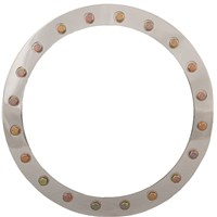 Raceline Beadlock Ring Polished