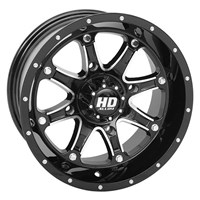 HD4 ALLOY WHEEL GLOSS BLACK / MACHINED