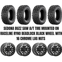 Raceline Ryno Beadlock Wheel / Sedona Buzz Saw A/T Tire