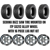 ITP SS212 Wheel / Sedona Buzz Saw A/T Tire