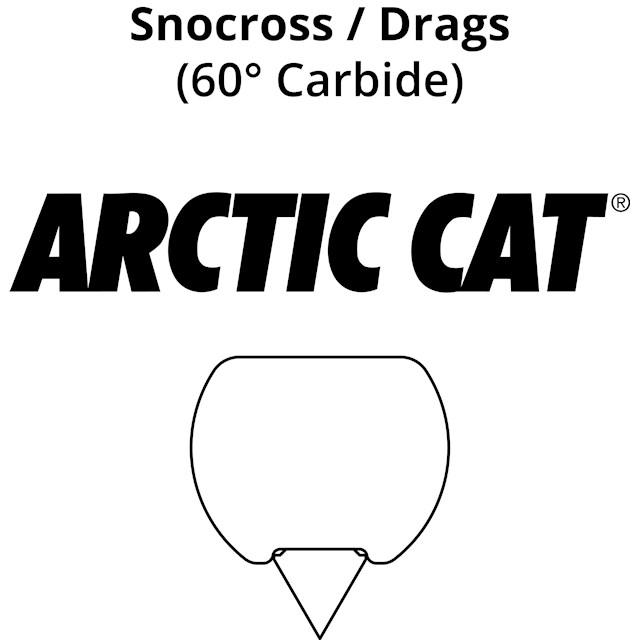 Snocross Runners: Arctic Cat Race Skis