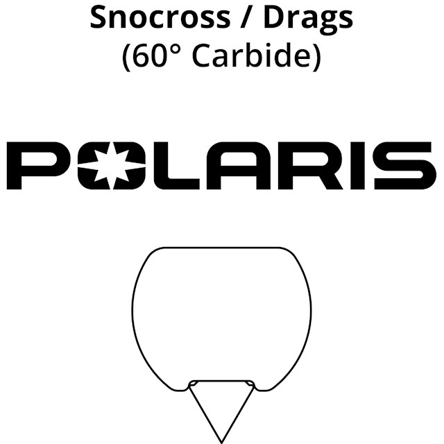 Snocross Runners: Polaris Race Skis