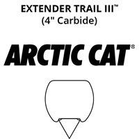 Extender Trail III™: Arctic Cat Stock Skis