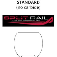 Standard: Split Rail Skis