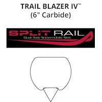 Trail Blazer IV™: Split Rail Skis