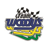 Team Woody's Flag Trailer Decal