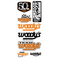 50th Anniversary Decal Sheet