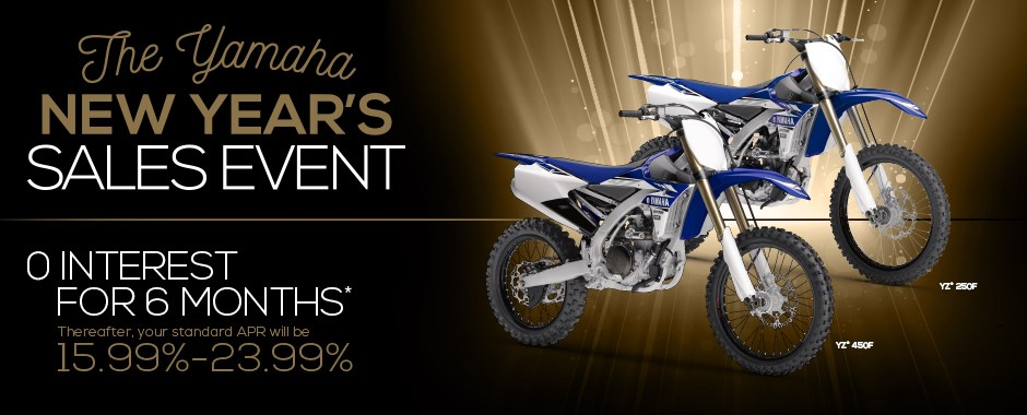 Yamaha Dirt Bike Sale