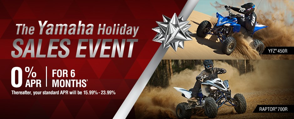 Yamaha ATV Sale