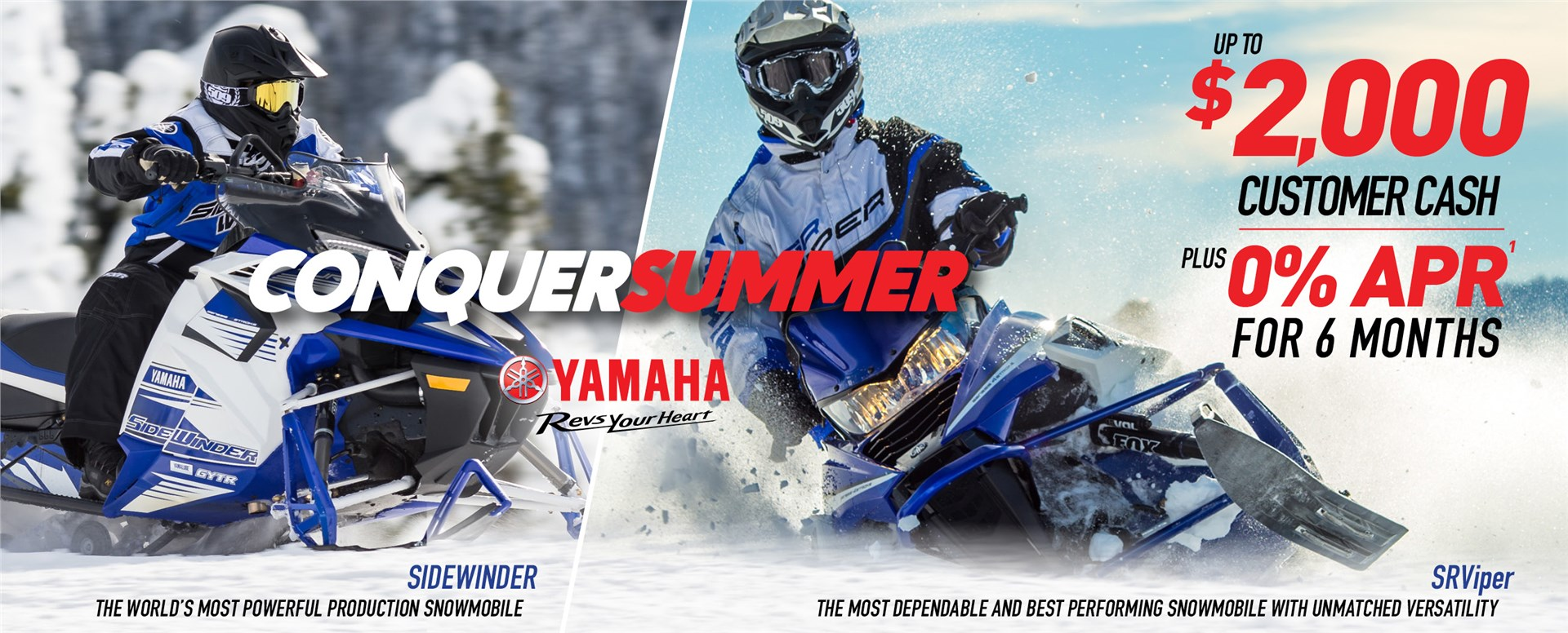 Yamaha Snowmobile Sale