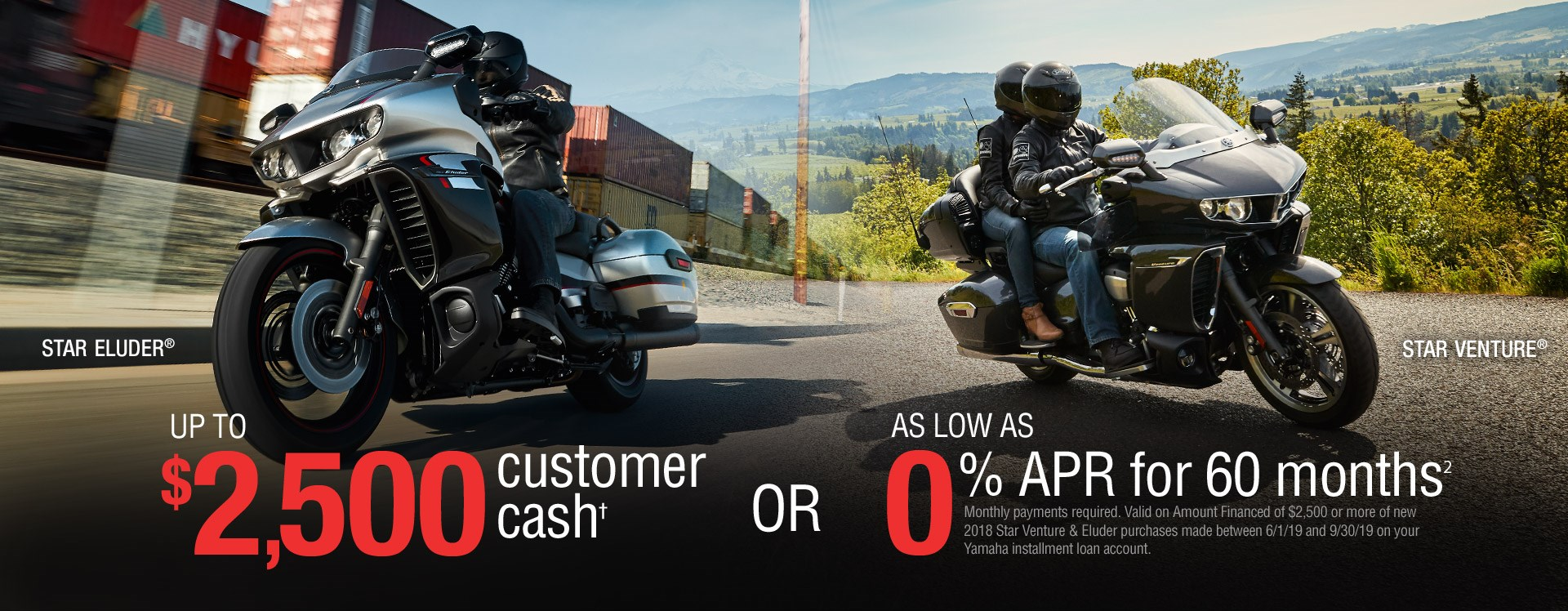 Yamaha Touring Sale